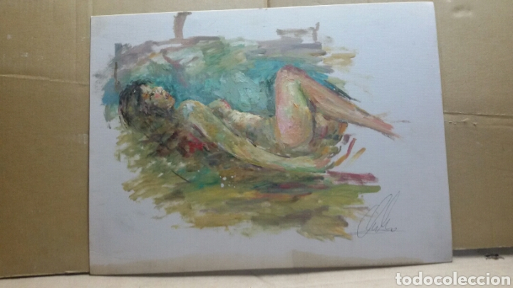 Arte: Cuadro cuerpo de mujer original - Foto 3 - 155536918
