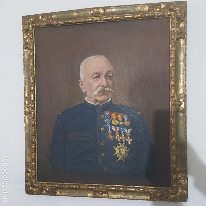 Arte: Cuadro de Oleo Sobre lienzo pintor Jose Macias - Foto 2 - 155559262