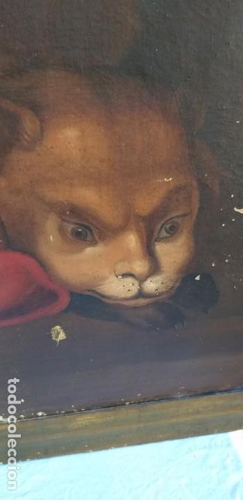 Arte: Oleo sobre lienzo Sg. XVIII San Marcos - Foto 4 - 155577494