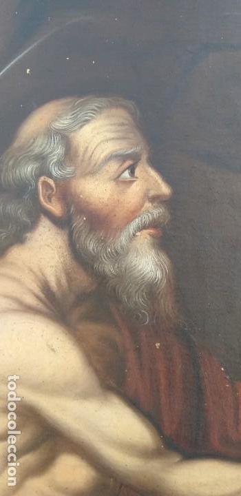 Arte: Oleo sobre lienzo Sg. XVIII San Marcos - Foto 5 - 155577494