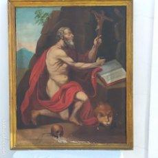 Arte: OLEO SOBRE LIENZO SG. XVIII SAN MARCOS. Lote 155577494