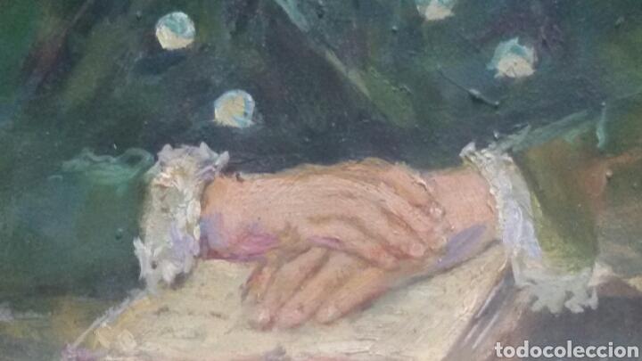 Arte: Antigua chica colegio privado original+marco - Foto 6 - 155723414