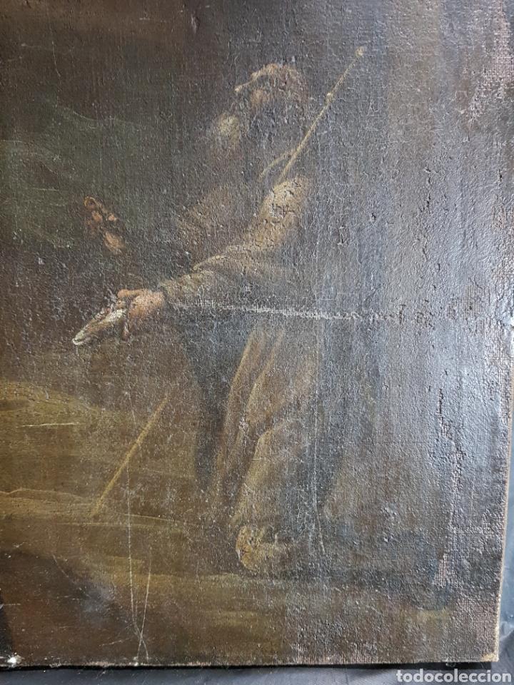 Arte: Santo pidiendo curación anonimo - Foto 4 - 155762689