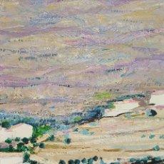 Arte: EL BALUART, CADAQUÉS. ÓLEO SOBRE LIENZO. FIRMADO JORDI PAGANS MONTSALVATGE. ESPAÑA. XX. Lote 155774962
