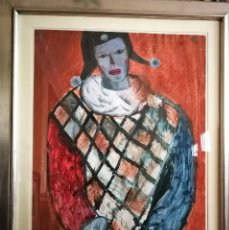 Arte: OLEO DE JUAN BARBERA ENMARCADO. Lote 155865686