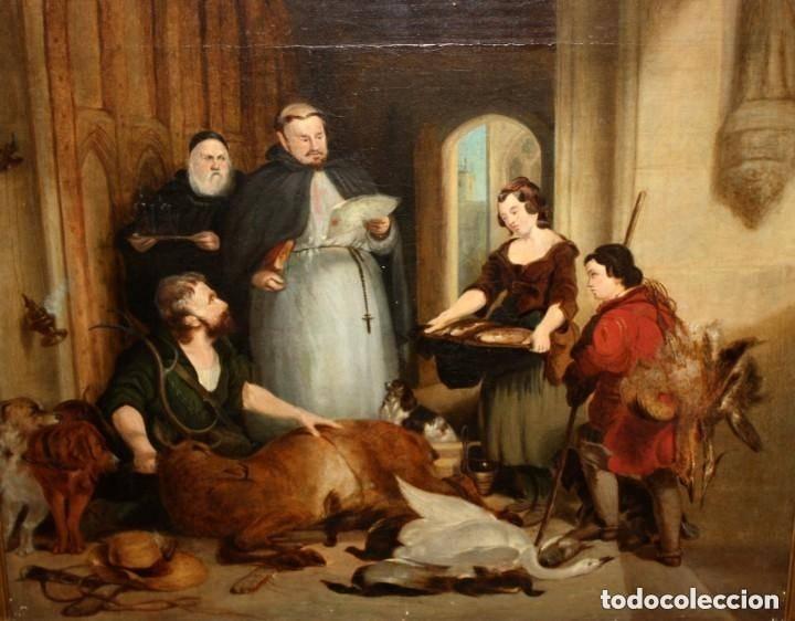ANONIMO DE FINALES DEL SIGLO XVIII - PRINCIPIOS SIGLO XIX. OLEO SOBRE TELA. (Arte - Pintura - Pintura al Óleo Antigua siglo XVIII)