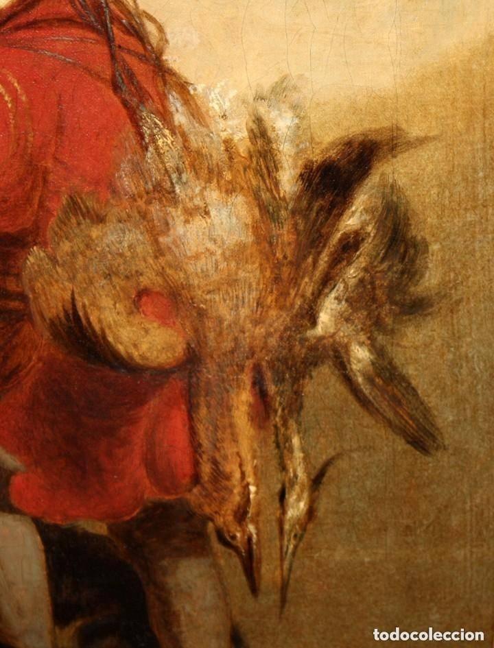 Arte: ANONIMO DE FINALES DEL SIGLO XVIII - PRINCIPIOS SIGLO XIX. OLEO SOBRE TELA. - Foto 6 - 130780844