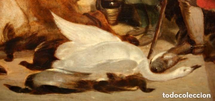 Arte: ANONIMO DE FINALES DEL SIGLO XVIII - PRINCIPIOS SIGLO XIX. OLEO SOBRE TELA. - Foto 7 - 130780844