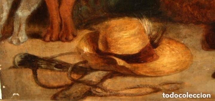 Arte: ANONIMO DE FINALES DEL SIGLO XVIII - PRINCIPIOS SIGLO XIX. OLEO SOBRE TELA. - Foto 8 - 130780844