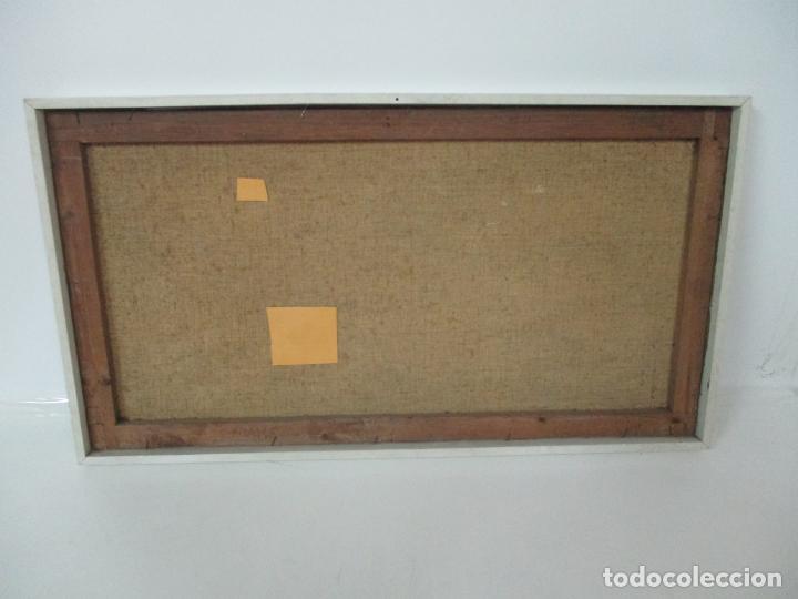 Arte: Antigua Pintura - Óleo sobre Tela - Paisaje - Escuela Catalana - Principios S. XX - Foto 9 - 155954802