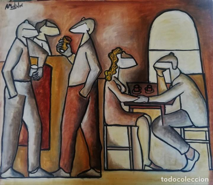 ANTOLÍN MONTIEL. PINTURA ORIGINAL (Arte - Pintura - Pintura al Óleo Contemporánea )