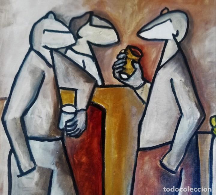 Arte: Antolín MONTIEL. PINTURA ORIGINAL - Foto 3 - 155961926
