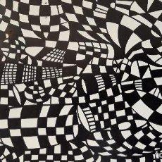 Arte: ABSTRACTO, CARTULINA ( SIN MARCO )1115/. Lote 156268206