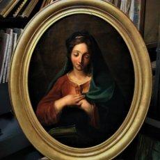 Arte: EXCEPCIONAL VIRGEN DEL LIBRO. Lote 156391358