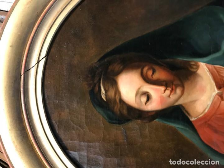 Arte: EXCEPCIONAL VIRGEN DEL LIBRO - Foto 2 - 156391358