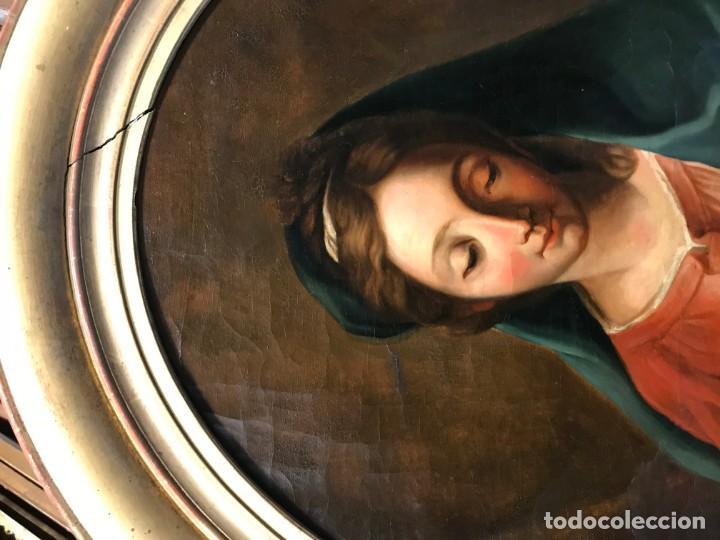 Arte: EXCEPCIONAL VIRGEN DEL LIBRO - Foto 3 - 156391358