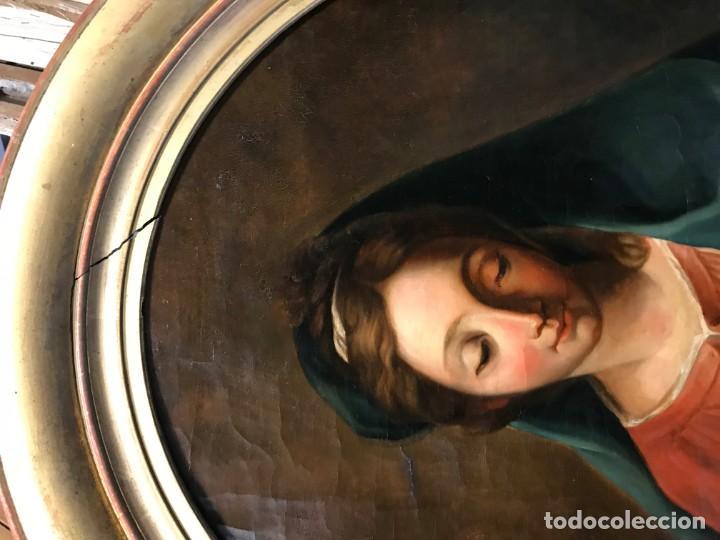 Arte: EXCEPCIONAL VIRGEN DEL LIBRO - Foto 4 - 156391358
