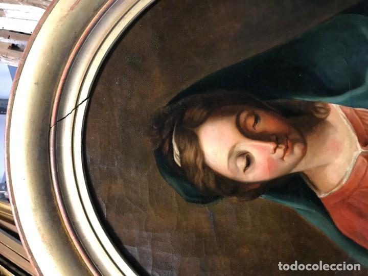 Arte: EXCEPCIONAL VIRGEN DEL LIBRO - Foto 13 - 156391358