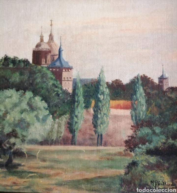Arte: Mari Pepa Gallardo. Óleo 1963. - Foto 2 - 156479929