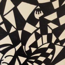 Arte: ABSTRACTO SOBRE CARTULINA SIN MARCO /N- 1116 ). Lote 156490186