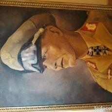 Arte: RETRATO DEL BUSTO DEL GENERAL ERWIN ROMMEL, EL ZORRO DEL DESIERTO. Lote 156500818