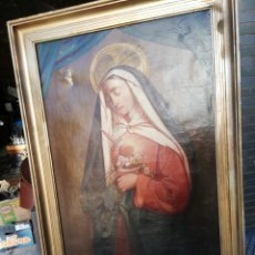 Arte: VIRGEN DE LOS DOLORES ÓLEO SOBRE LIENZO SIGLO XVII 1,70M ALTO. Lote 156502004