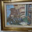 Arte: CUADRO OLEO SOBRE LIENZO DEL PINTOR MURCIANO MUÑOZ BARBERAN. Lote 156550974