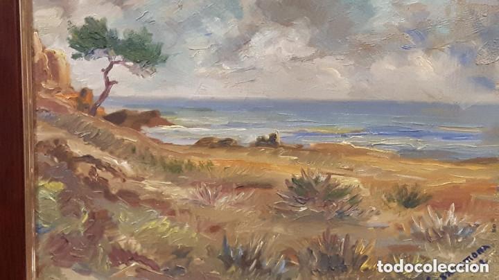 FRANCESC CASARRAMONA, ( PINTOR DE PAISAJES ) OLEO SOBRE LIENZO (Arte - Pintura - Pintura al Óleo Contemporánea )