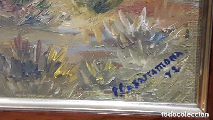 Arte: FRANCESC CASARRAMONA, ( PINTOR DE PAISAJES ) OLEO SOBRE LIENZO - Foto 3 - 156597486