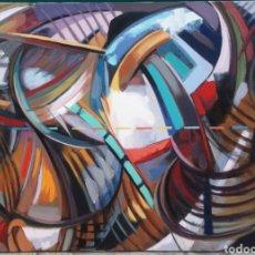 Arte: ÓLEO SOBRE LIENZO DE JUAN HURTADO. Lote 156689596