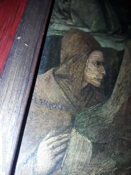 Arte: Magnifico cuadro reproducción sobre madera Adoración al Niño Jesús y Santos F. Filippo Lippi - Foto 17 - 156766746