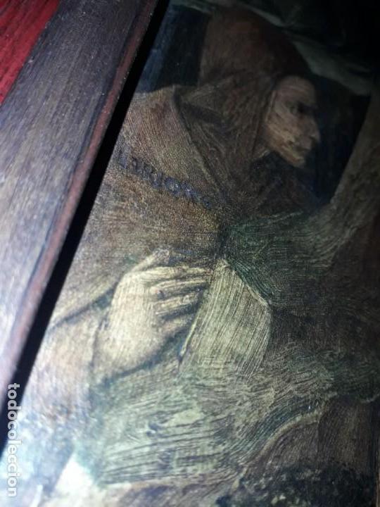 Arte: Magnifico cuadro reproducción sobre madera Adoración al Niño Jesús y Santos F. Filippo Lippi - Foto 20 - 156766746