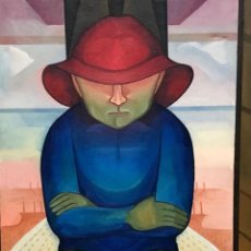 Arte: BROTAT, JOAN - ÓLEO SOBRE TELA -. Lote 156887806