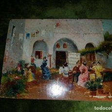 Arte: TABLA COSTUMBRISTA. SIGLO XIX . Lote 156890334