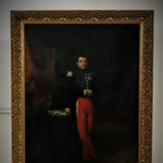 Kunst: RETRATO DE GENERAL FRANCES CON LA LEGION DE HONOR.. Lote 156901730