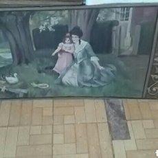 Arte: OLEO SOBRE LIENZO FIRMADO A DIAGO DE 1945. Lote 156909204