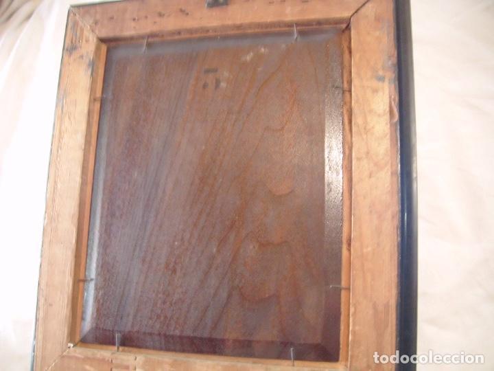 Arte: cuadro al óleo de una SEÑORA CON PAÑUELO - Foto 7 - 156980922