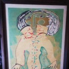 Arte: PINTOR SAMOT..ORIGEN CANARIO GRANDES EXPOSICIONES INTERNACIONALES EN CENTRO AMÉRICA Y SUR AMÉRICA... Lote 157003000