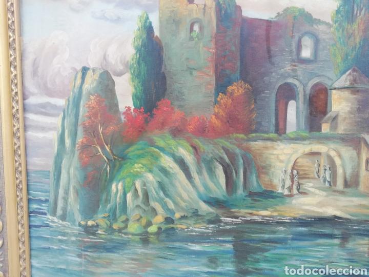 Arte: Gran cuadro pintura a mano firmado de la primera mitad del siglo XX Alemania - Foto 4 - 157210049