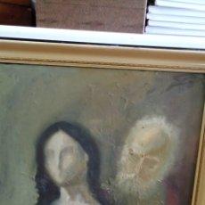 Arte: ÓLEO SOBRE TABLA DE SECUNDINO DIZ.. Lote 157253633