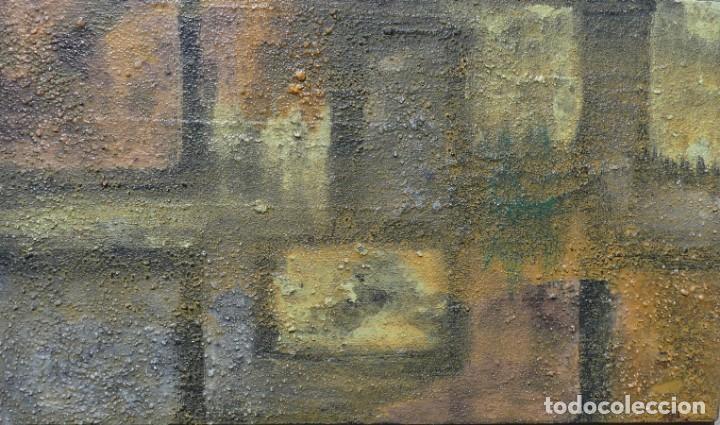 Arte: PINTURA ABSTRACTA DE JOSE SANZ SALA REALIZADA SOBRE TABLERO - Foto 2 - 157271310