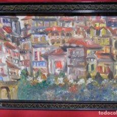 Arte: CUADRO DE PINTURA AL OLEO SOBRE LIENZO - FDO LABRADOR -. Lote 157689306
