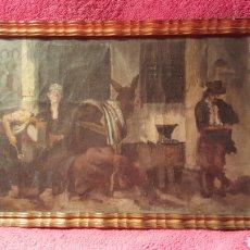 Kunst - CUADRO DEL PINTOR JOSÉ SEBASTIÁN - 157831245