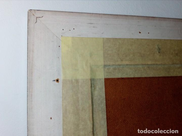 Arte: H. MARÍN - ÓLEO SOBRE LIENZO PEGADO A TABLA (PAISAJE) 53X53,5 CENTÍMETROS - FIRMADO - Foto 15 - 157860026