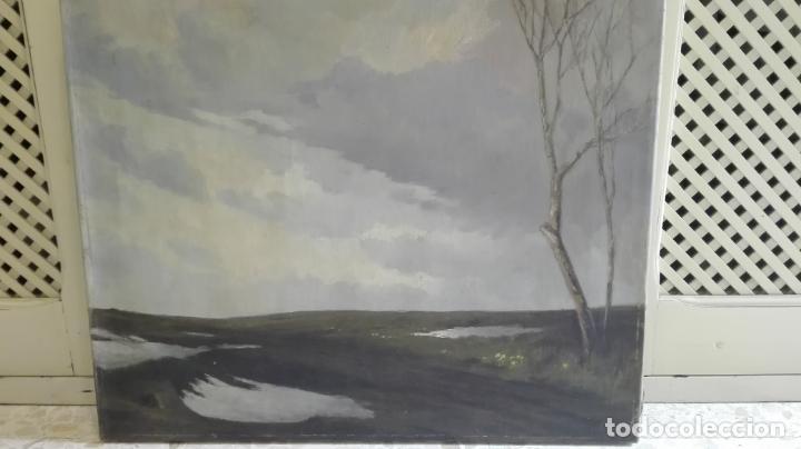 Arte: paisaje -oleo- sobre lienzo -firmado - Foto 3 - 157913538
