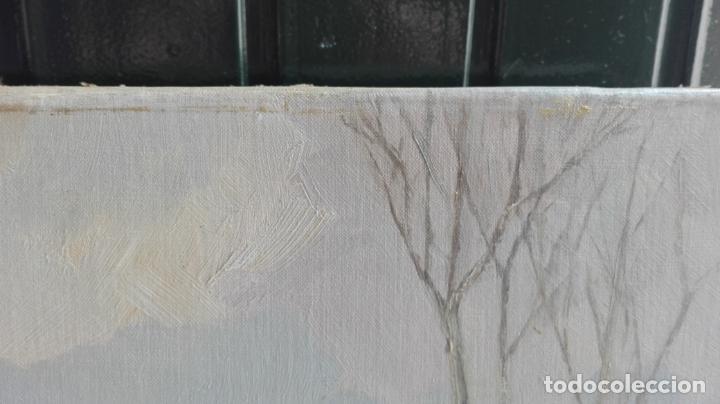 Arte: paisaje -oleo- sobre lienzo -firmado - Foto 4 - 157913538