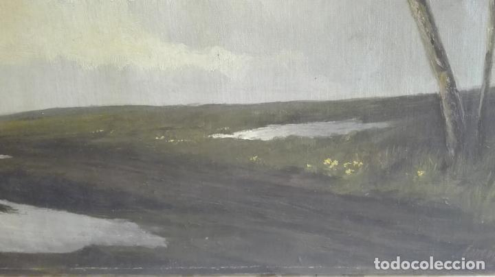 Arte: paisaje -oleo- sobre lienzo -firmado - Foto 9 - 157913538