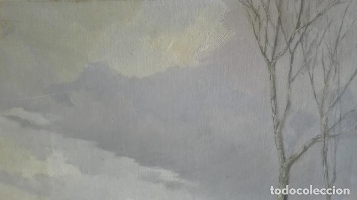 Arte: paisaje -oleo- sobre lienzo -firmado - Foto 10 - 157913538