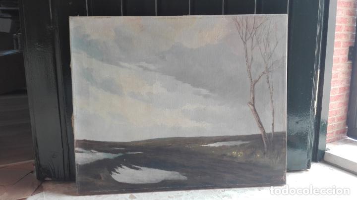 Arte: paisaje -oleo- sobre lienzo -firmado - Foto 13 - 157913538