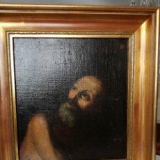 Arte: RETRATO PINTURA ESPAÑOLA S-XVII - 37X41 CM. Lote 158016270